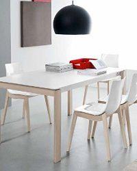 Calligaris-Connubia-by-Tavolo-Eminence-W-160-A-PianoAllunga-P133-Ceramica-Stone-all-lam-Grafite-Struttura-P94-mt-B076W2BN6R