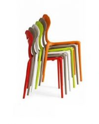 Calligaris-Set-4-sedie-Area-51-di-Connubia-plastica-in-Diversi-Colori-B07DVMXZCC